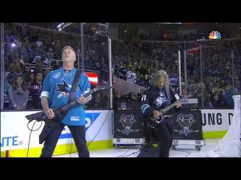 Guitarristas do Metallica tocam o Hino Nacional Americano antes de partida de hóquei. Veja! #M, #Nacional, #Noticias, #Popzone, #Vídeo, #Youtube http://popzone.tv/2016/06/guitarristas-do-metallica-tocam-o-hino-nacional-americano-antes-de-partida-de-hoquei-veja.html