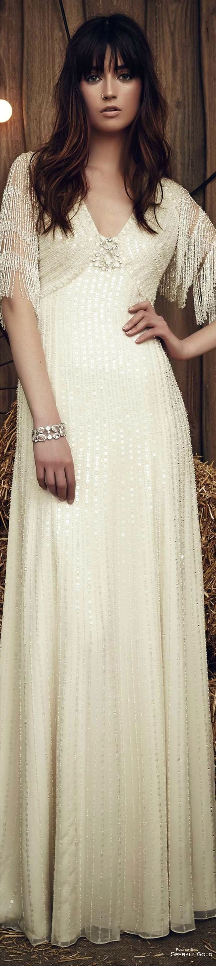 #Farbbberatung #Stilberatung #Farbenreich mit www.farben-reich.com Jenny Packham Spring 2017 Bridal