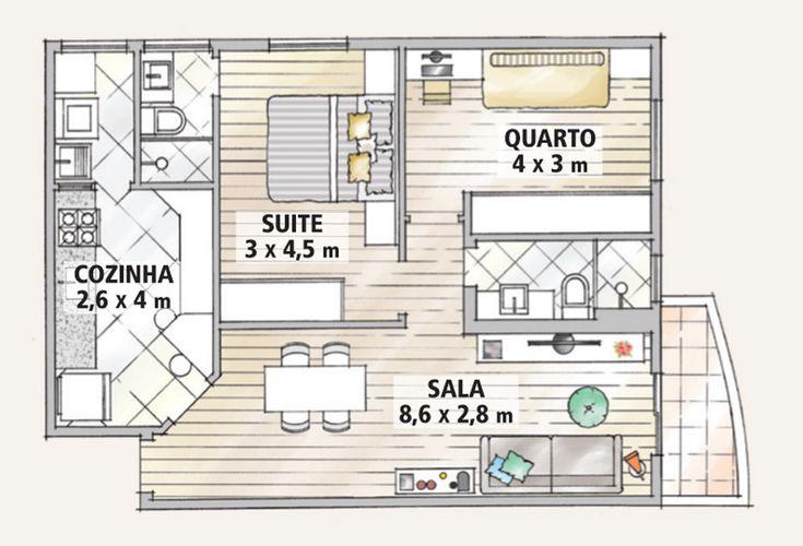 Apartamento 68m2