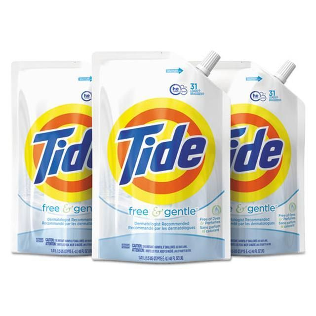 Tide Free And Gentle Liquid Laundry Detergent 100 Fl Oz Tide