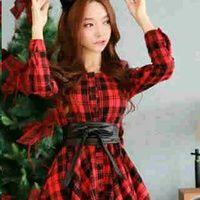 mini dress korea terbaru square KK205