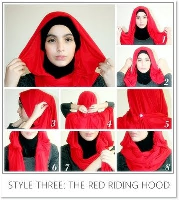 the red riding hood hijab tutorial