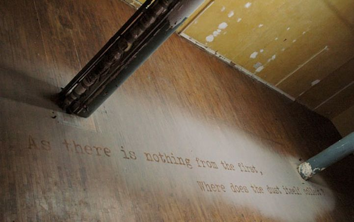 Typography Made with Dust Collected from 9/11 Aftermath - My Modern Metropolis