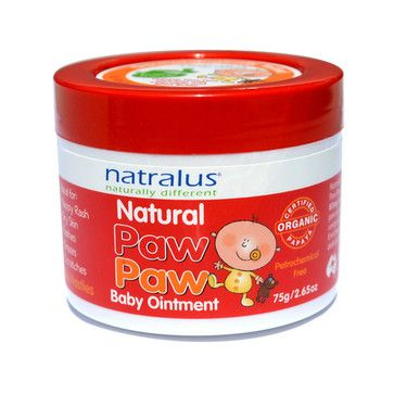 Natralus Natural Paw Paw Baby Ointment - 75g - Onefloor.com.au. $14.95. Natralus Natural Paw Paw Baby Ointment is a paw paw ointment that has been formulated with fresh fermented organic paw paw. The ointment also contains calendula to soothe delicate skin and shea butter to nourish.