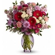 When you really want to make a grand impression on someone special, choose this regal arrangement. Roses,