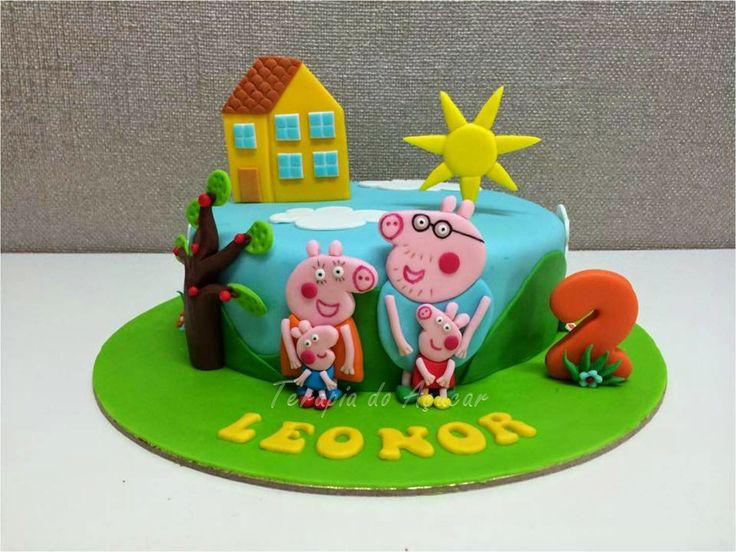 Peppa Pig Cake Bolo Porca Peppa
