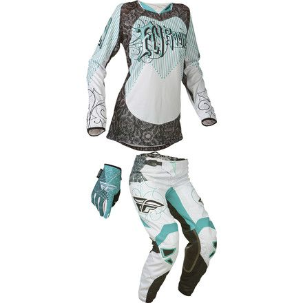 Dirt Bike Fly 2015 Women's Kinetic Combo | MotoSport