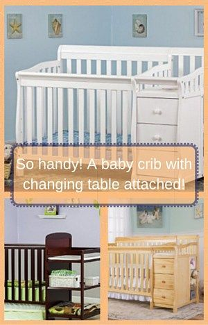 Mejores 19 imágenes de Baby Crib with Changing Table Attached en ...