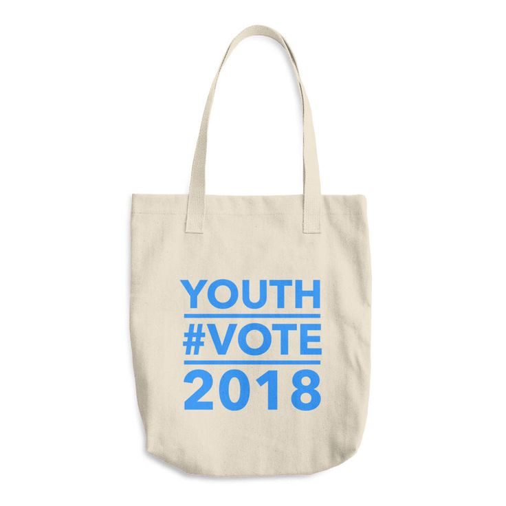 Excited to share the latest addition to my #etsy shop: Youth Vote 2018 Tote Bag / Made In USA Youth Voter Registration Tote / Reusable Tote / Mid-Term Tote / Reusable Shopping Bag / Canvas Tote #bagsandpurses #canvastotebag #reusablegrocerybag #youthvote #midterm2018 #vote #bluewave