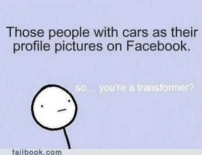 ha: Transformers, Laugh, Profile Pictures, True, Funny Stuff, Bahahaha Chad, Things, Bumble Bees, Giggles