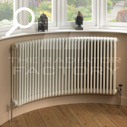 17 best ideas about curved radiators on pinterest home for Curved bay window