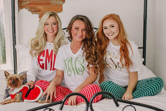 Personalized Christmas Pajamas for Adult and Kids