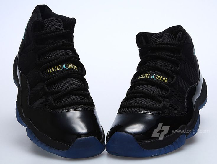 Air Jordan 11 GS - Black - Gamma Blue - SneakerNews.com