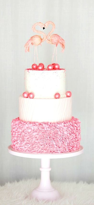15 Super Cute Pink Flamingo Wedding Ideas   http://www.deerpearlflowers.com/15-super-cute-pink-flamingo-wedding-ideas/