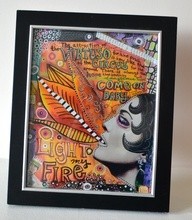 Framed Print - Light My Fire, $20