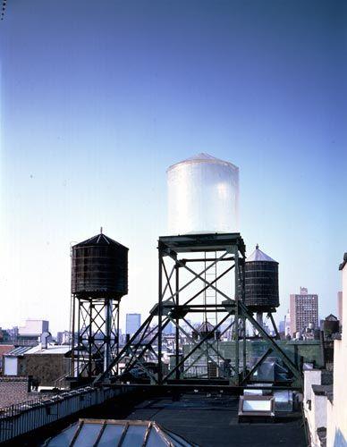 Rachel Whiteread, Water Tower, 1998