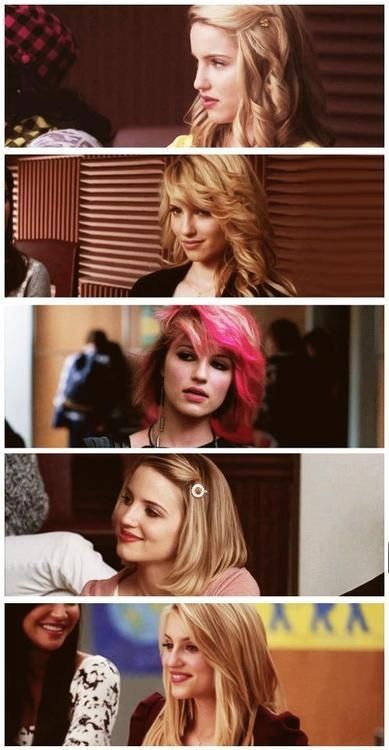 Glee- Quinn throughout the seasons
