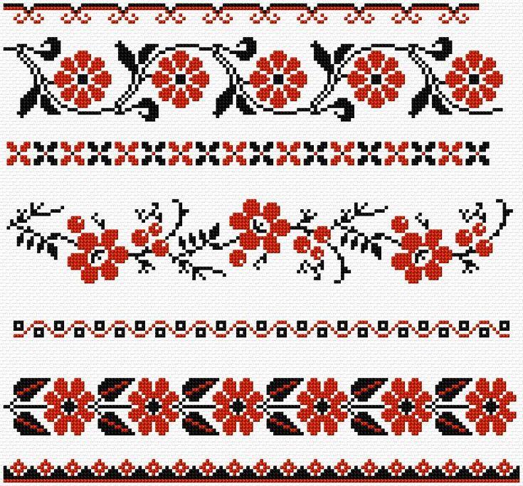 Cross Stitch | Ukrainian Borders xstitch Chart | Design