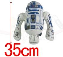 Pelúcia do Star Wars R2D2 robot 35 cm