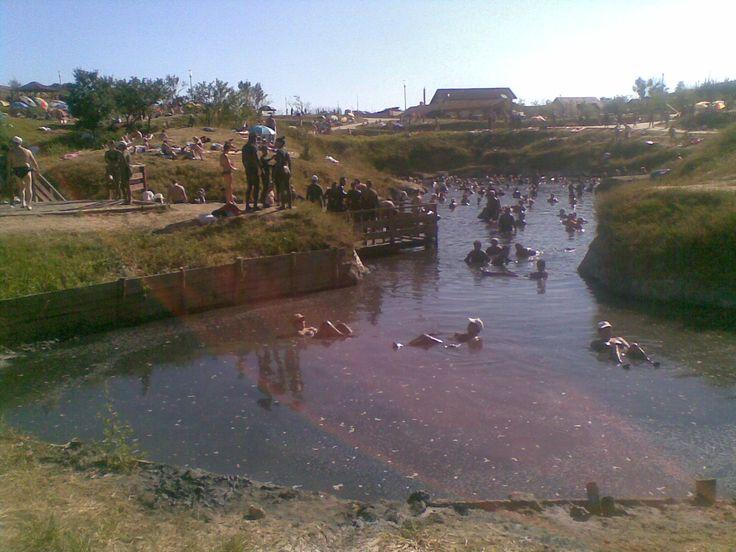 whole day at Ocna Mud baths and thermal salt lakes Sibiu Romania
