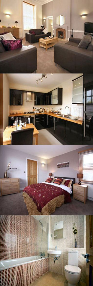 These corporate serviced apartments are in a 17th Century listed building in Wokingham town centre, close to a number of shops and restaurants. The apartments are convenient for visitors working in Bracknell, which is a ten minute drive away. Here are Montague Apartments, Centre, Wokingham