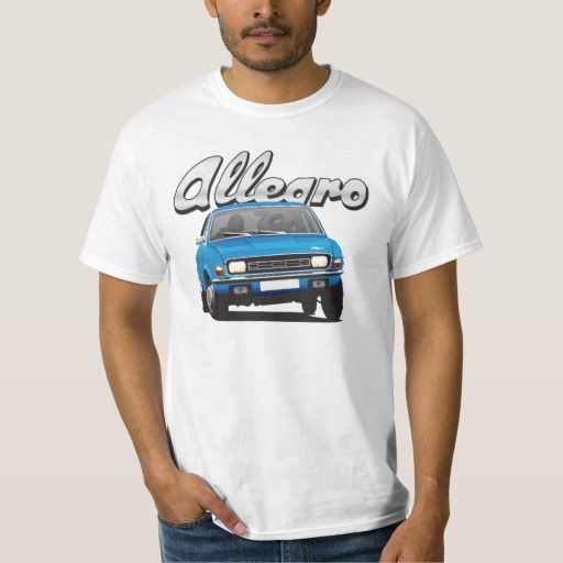 Austin Allegro UK DIY blue  #austinallegro #allegro #austin #leyland #british #uk #automobile #car #tshirt #print #illtustration #zazzle #70s #classic #blue