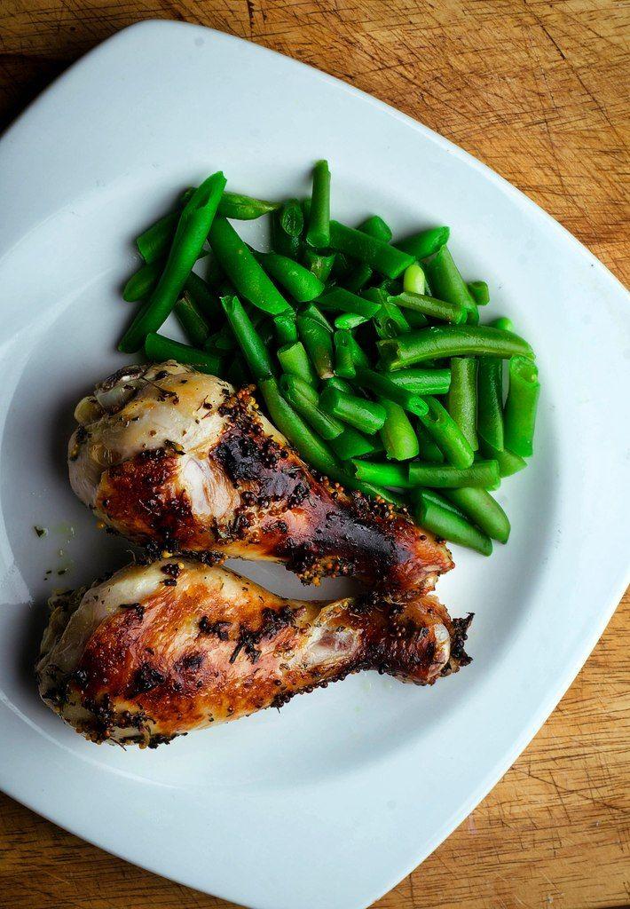 Курица с горчицей и тархуном