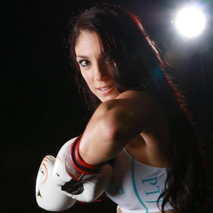 As a female fighter I'm proud to be succeeding in muaythai. I didn't choose to get involved in a male dominant sport, I've chosen my passion.
