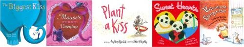 Valentine's Day by Storytime Katie:  The Biggest Kiss by Joanna Walsh and Judi Abbot  Mouse's First Valentine by Lauren Thompson  Plant a Kiss by Amy Krouse Rosenthal  Sweethearts by Jan Carr  Valentine Surprise by Corinne Demas