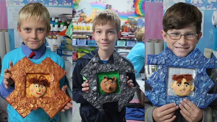 Papermache and clay