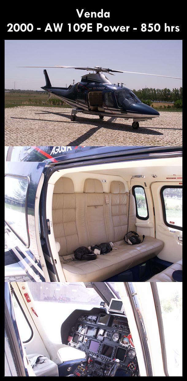 Aeronave à venda: Agusta Westland AW 109E Power, 2000, 850 hrs. #agusta #agustawestland #aw109epower #agustapower #airsoftanv #a109epower #aircraftforsale #aeronaveavenda #pilot #piloto #helicoptero #aviation #aviacao #heli #helicopterforsale  www.airsoftaeronaves.com.br/H136