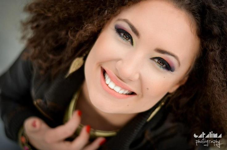 Colors. Model: Georgiana Stanciu  Makeup: Alexandra Gheorghe    Photography & editing: Catalina Alexandra Ion pinned with Pinvolve