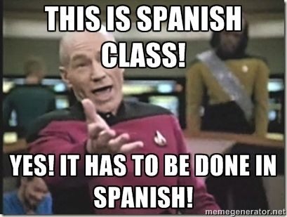 spanish class memes - Google Search