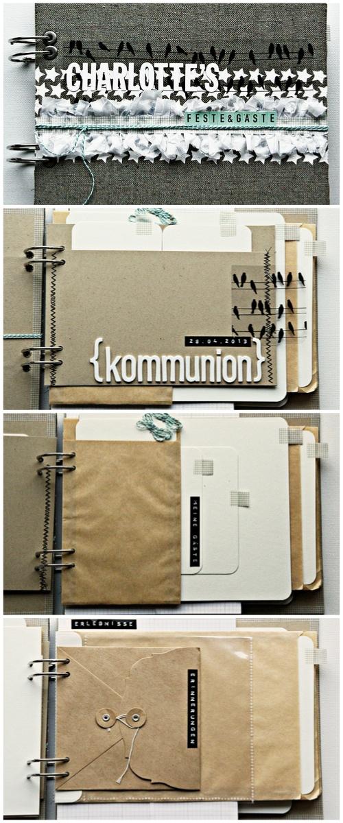 Gästebuch zur Kommunion von Irma de Jager für www.danipeuss.de