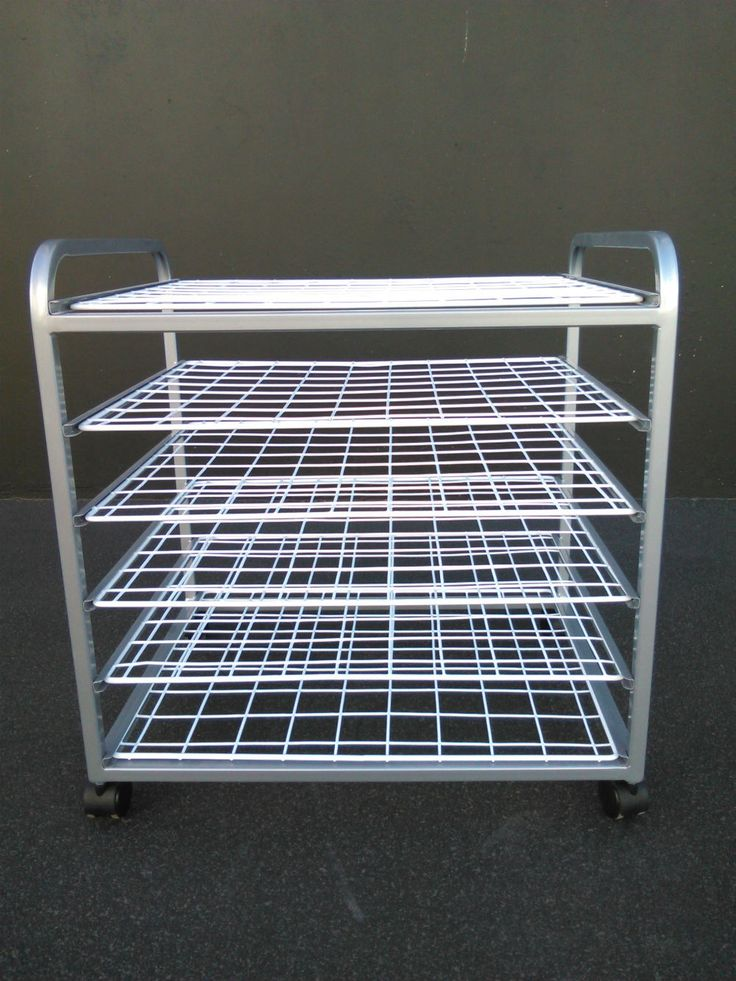 Small Drying Rack (1299)650W x 500D x 680H6 Removable Wire RacksPowder coated frame available in a variety of on trend colours....