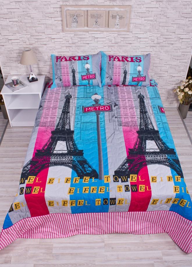 Club-E Paris Color Çift kişilik yatak örtüsü takımı - paris color Markafoni'de 280,00 TL yerine 139,99 TL! Satın almak için: http://www.markafoni.com/product/3361528/
