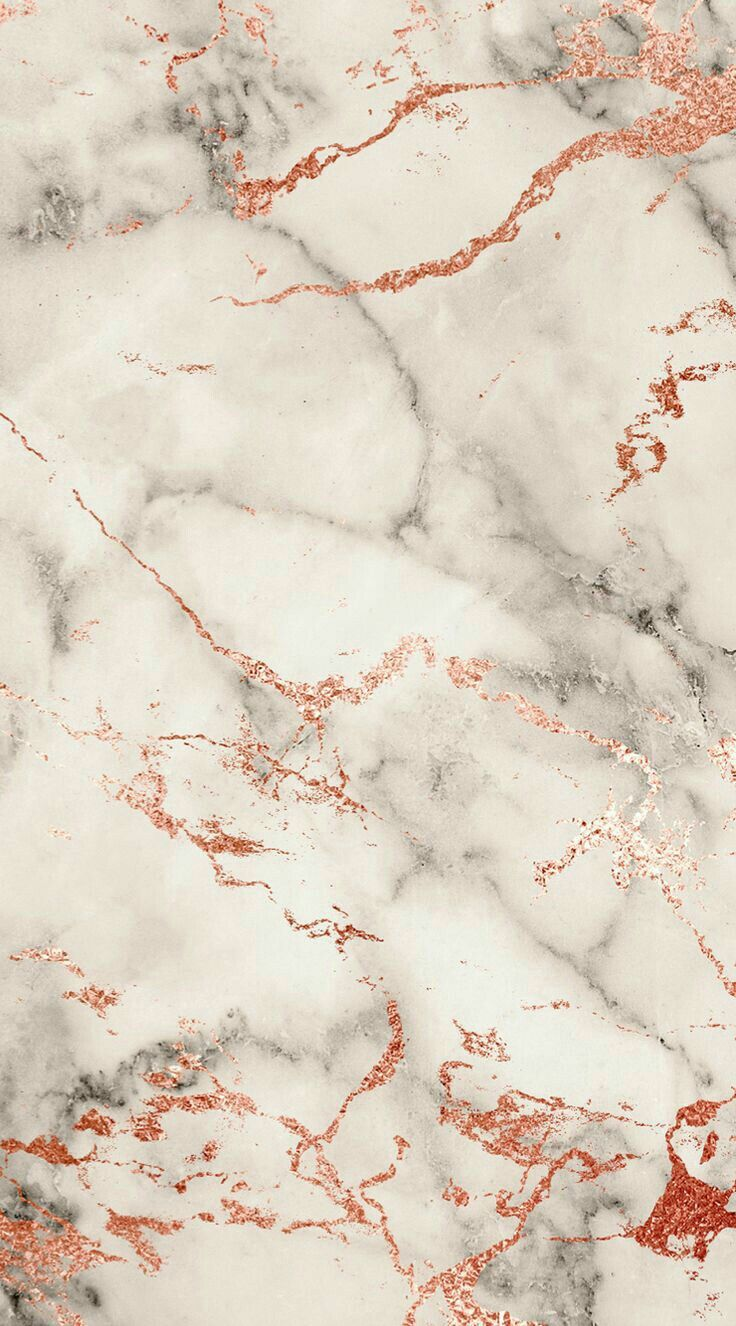 Aesthetic Rose Gold Marble Background