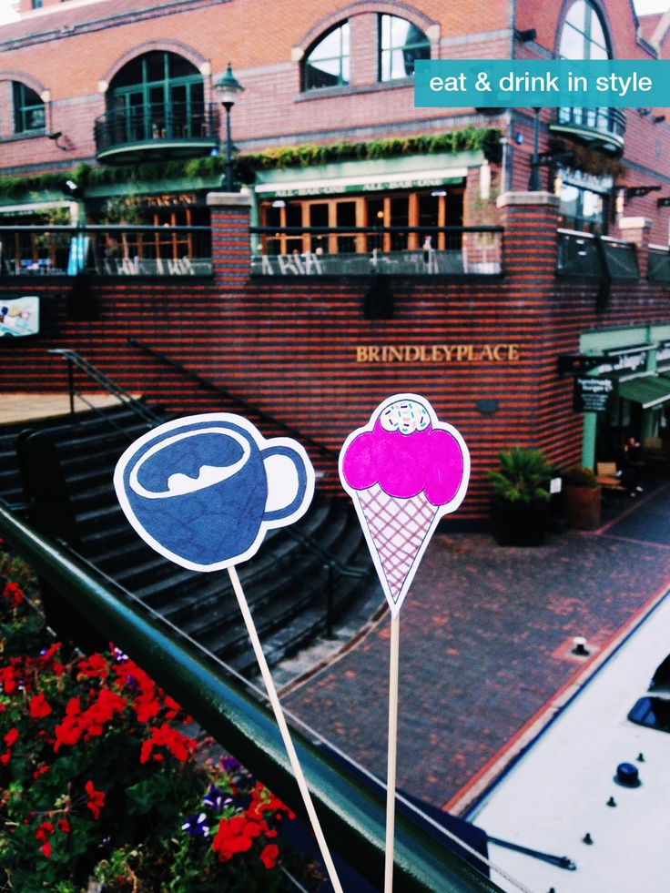 Brindleyplace in Birmingham, West Midlands. Love this place for a night out