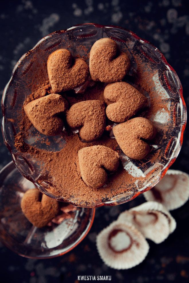 Polish chocolate truffles recipe (in Polish - I used google translate & they turned out great)