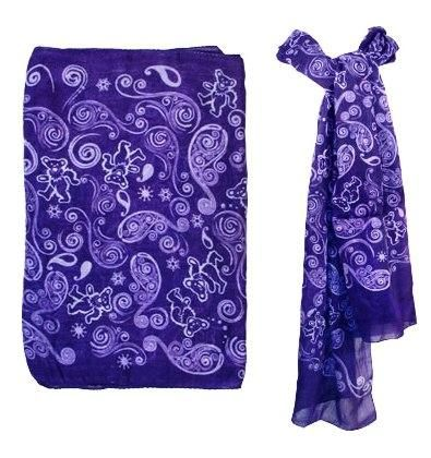 Grateful Dead - Bears Fashion Scarf will compliment any outfit. http://www.sunshinedaydream.biz/Grateful-Dead--Bears-Fashion-Scarf_p_1269.html
