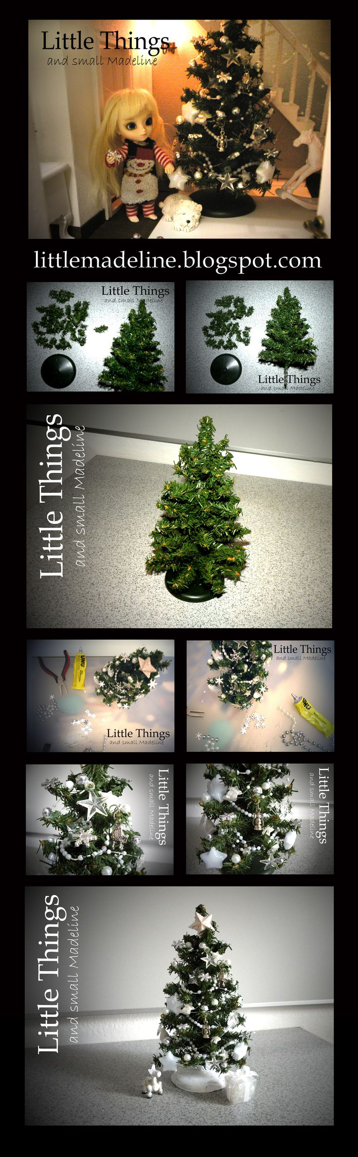 Christmas tree in 1:12 scale