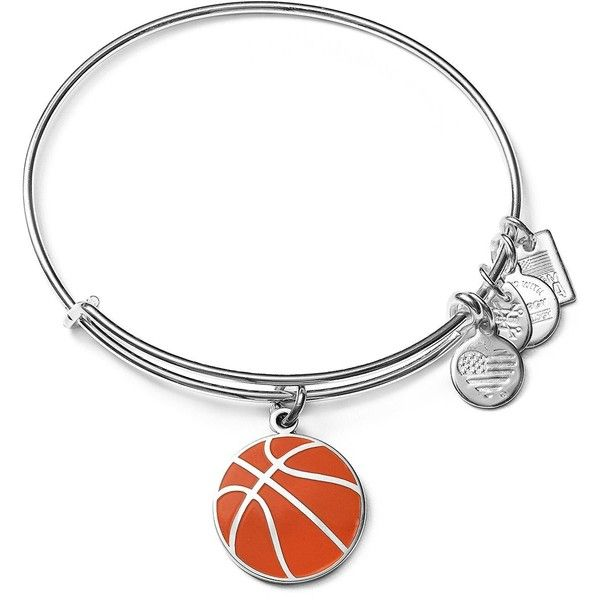 Alex and Ani Team Usa Basketball Expandable Wire Bangle ($40) ❤ liked on Polyvore featuring jewelry, bracelets, hinged bangle, hinged bracelet, expandable bangle, polish jewelry and bangle bracelet
