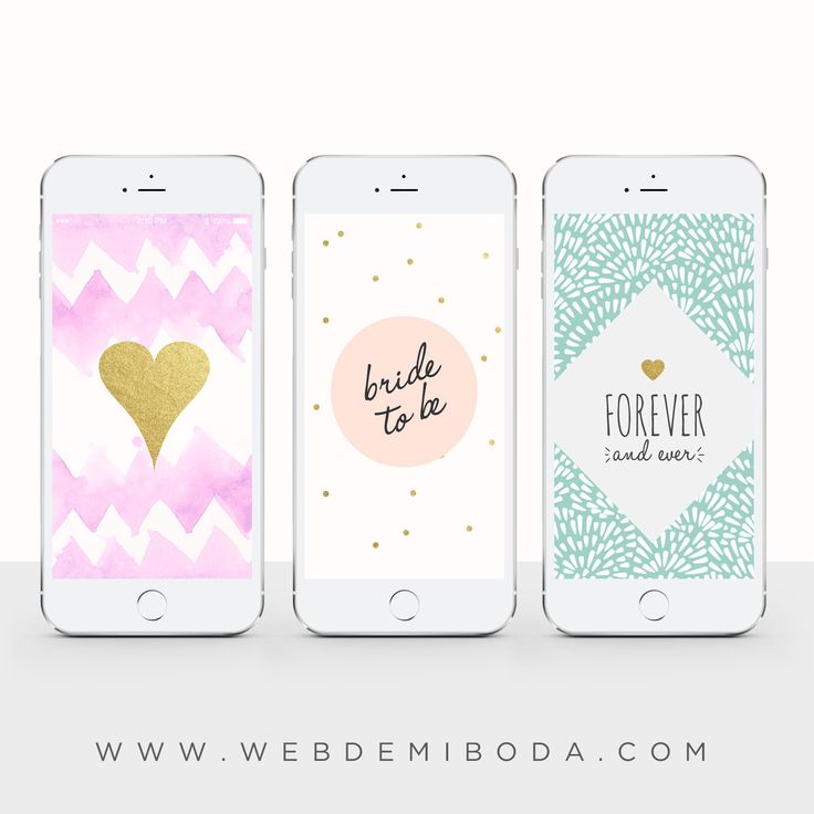 WALLPAPERS / bride to be / Forever and ever / Love.   #webdemiboda #bride #bridetobe #yesido #foreverandever #love #wedding #weddinginspiration #weddingdesign
