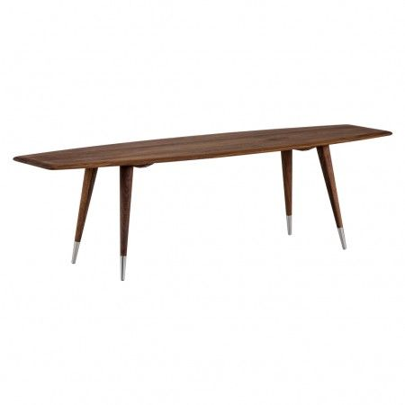<p>Danish design duo Søren Nissen and Ebbe Gehl's Point coffee table is made in solid walnut with a lacquered finish to showcase the natural beauty of the wood grain.</p> <p>The organic shaped table top is supported by four tapered legs, exquisitely finished with stainless steel detailing. A beautiful centrepiece for your living space.</p>