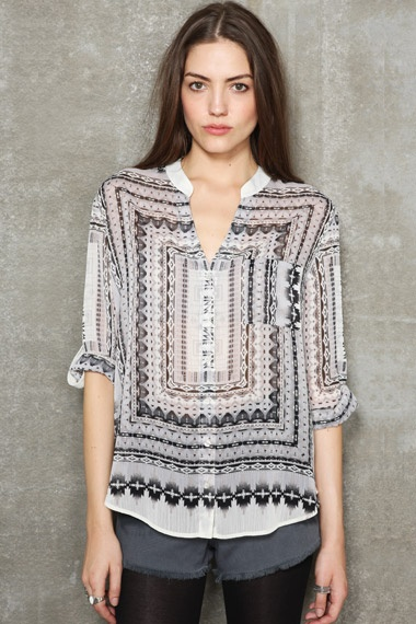 Tribal Placement Shirt  #uostyle