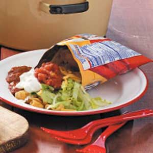 """CAMPFIRE TACO SALAD 