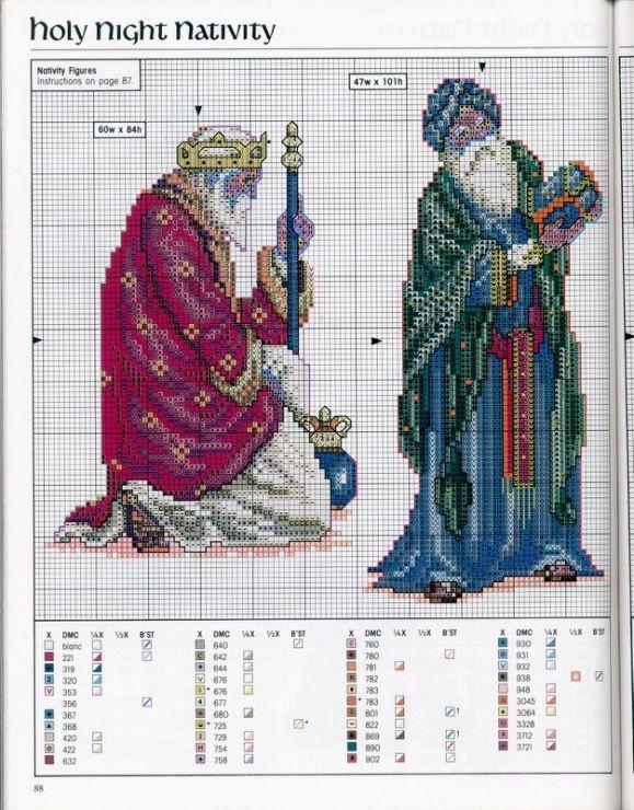 Cross-stitch Holy Night Nativity Set, part 1... Gallery.ru / Фото #91 - 42 - 633-10-66