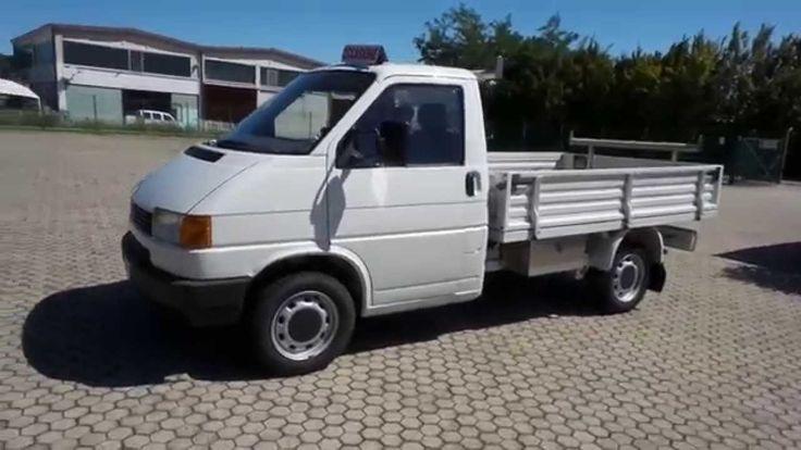 Volkswagen Transporter  2.4 D PL Autocarro cassonato 3 posti uniproprieta