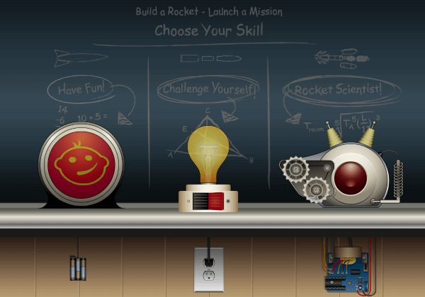 A NASA iOS/Android app which allows users to be rocket scientists. Learn about rockets and experiment with launching them. iOS: http://itunes.apple.com/us/app/rocket-science-101/id536290350?mt=8&uo=4&at=11lt9Z Android: http://play.google.com/store/apps/details?id=air.gov.nasa.ksc.RocketScience