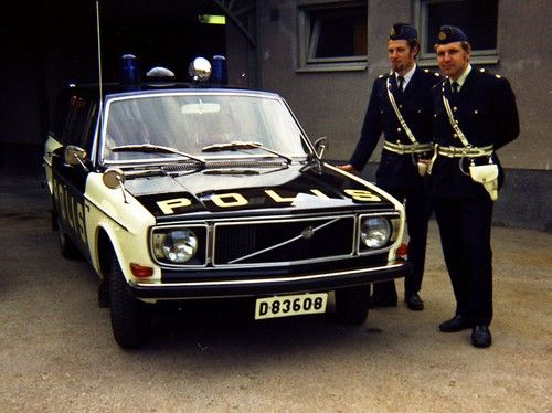 Volvo - Swedish 'Polis'